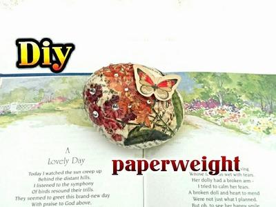 Diy: paperweight( super easy)