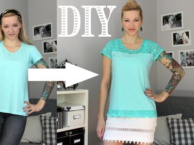 DIY Shirt Upgrade | Pimp My Shirt #4 | Upcycle