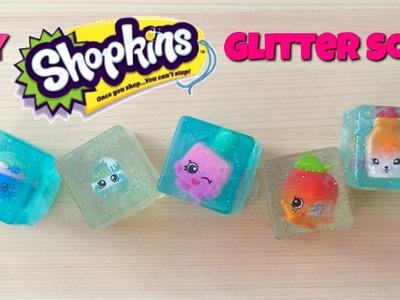 DIY Shopkins season 5 glitter soap party favor tutorial