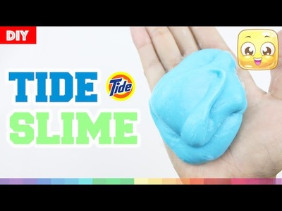 DIY Slime Without Borax or Liquid Starch | How to Make Slime with Glue and Tide