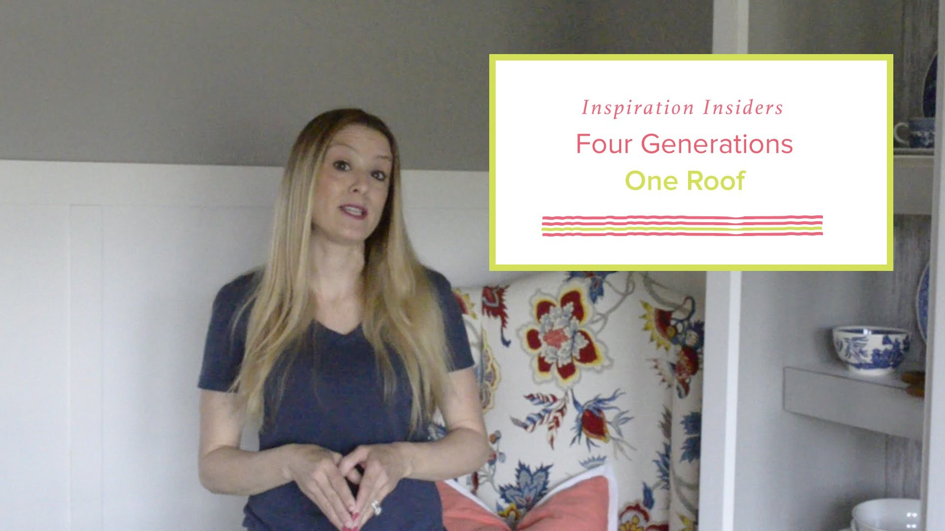 DIY: Spruce Up a Bookcase or Hutch with Wallpaper| Four Generations One Roof