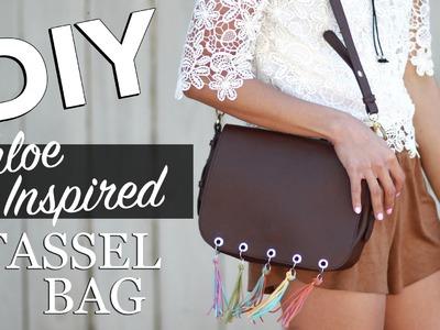 DIY Tassel Bag (Chloe Inspired + How I Styled It)   beautybitten