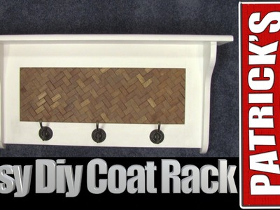 ♦️Easy Diy Coat Rack♦️