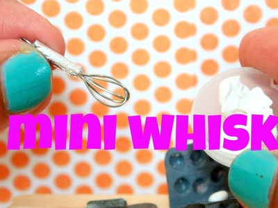 How to make a miniature whisk | Dollhouse DIY