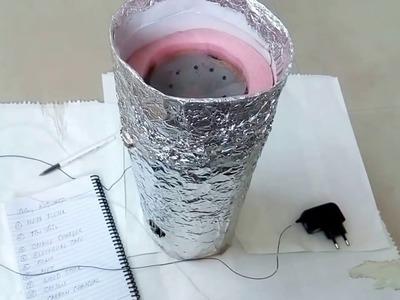 How to make Air Purifier HEPA DIY Part 1