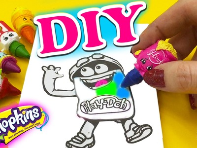 How to make Shopkins Crayons DIY