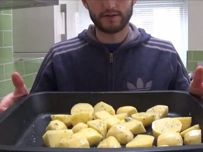 How to make simple roast potatoes for beginners, students or DIY chefs.