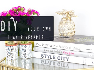 Make your own pineapple ornament | DIY Home Decor