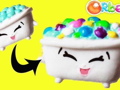 "New Custom Shopkins Season 5 ""Bertha Bath"" with Orbeez DIY Step By Step Tutorial | Toy Caboodle"