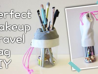 Perfect Makeup Travel Bag DIY | Sunny DIY