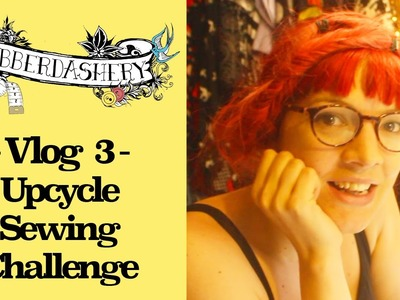Vlog 3 - DIY Upcycle Sewing Challenge: Dress to playsuit