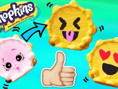 Custom Shopkins Season 5 Emoji Tammy Tamborine DIY Custom Paint | Toy Caboodle