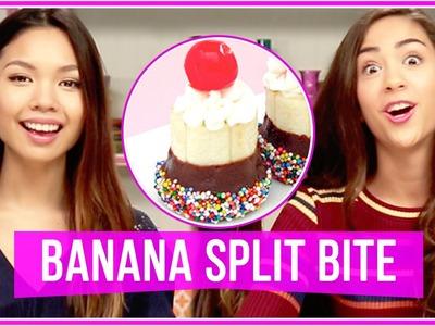 DIY Banana Split Bites! Let's Get Snacking!