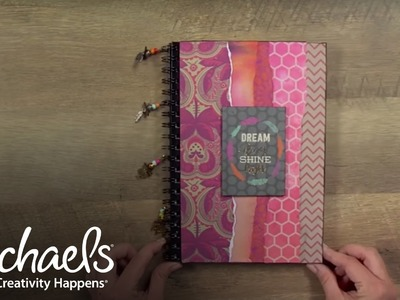 DIY Boho Journal Cover | Make-a-Thon | Michaels