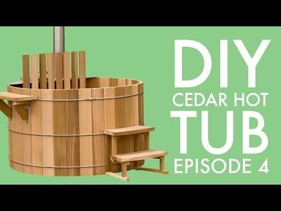DIY Cedar Hot Tub (Episode 4): Building the Floor