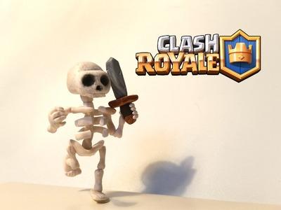 DIY Clash Royale Skeleton - Polymer clay tutorial