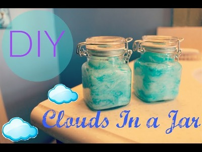 DIY Clouds.Sky In a Jar Tutorial