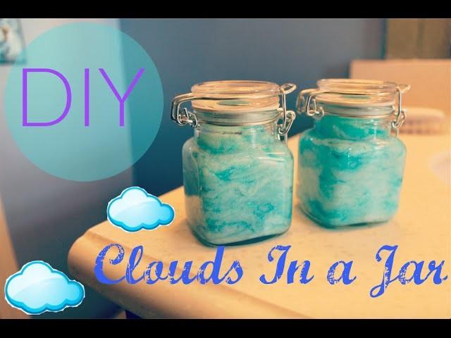 DIY Clouds.Sky In a Jar Tutorial
