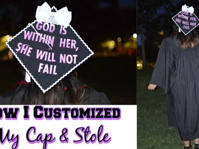 DIY Graduation Cap and Stole!