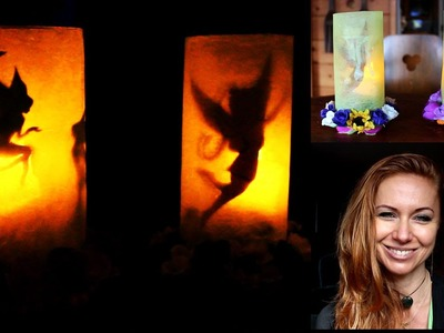 DIY - How to make a fairy lantern - plastic bottle recycling ideas