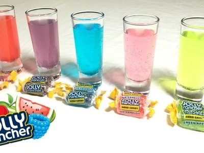 DIY | How To Make Jolly Rancher Infused Shots