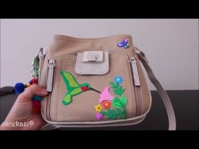 DIY-How to Revamp your old handbag: Hummingbird