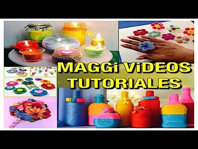 Diy  Manualidades  Maggi videos Tutoriales