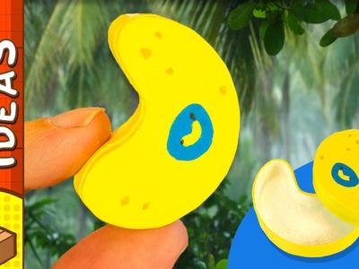 DIY Miniature Banana Gift Box | Craft Ideas for Kids