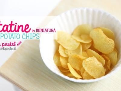 DIY: Miniature Chips with Polymer Clay
