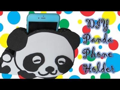 DIY Panda Phone Holder. Charging Dock - Easy Room Decor - Huggy Bunnies