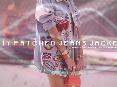 DIY ☯ PATCHES JEANS JACKET ☯ | MW