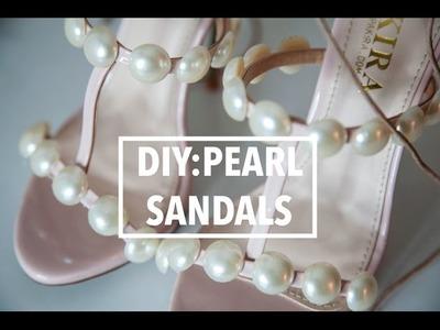 DIY: Pearl Sandals - Paula Cademartori