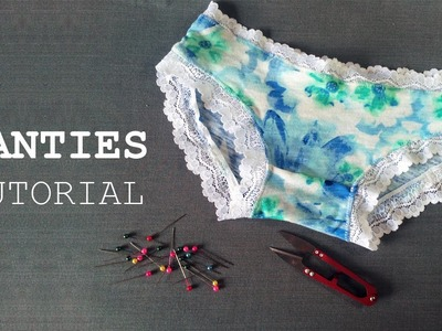 DIY - Sewing Panties Tutorial - Tự may quần lót