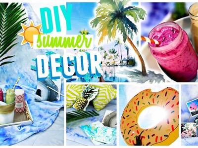 DIY Summer Room Decor - Tumblr Inspired YOU NEED TO TRY