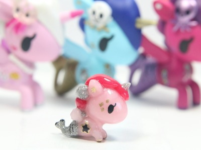 DIY Tokidoki Mermicorno Clay Figurine Tutorial