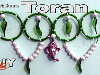 DIY Toran. Bandhanwar from waste bangles | How to make | JK Arts 960
