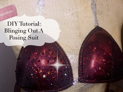 DIY Tutorial: Blinging Out A Posing Suit