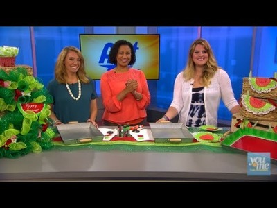 DIY Watermelon Party Crafts