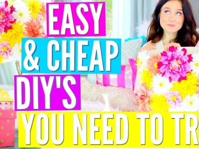 Easy & Cheap DIY'S Everyone Should Try!!!
