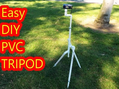 Easy DIY PVC Tripod