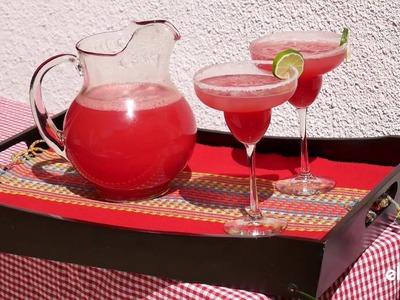 Easy DIY Watermelon Margaritas