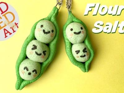 Easy Kawaii Peas in a Pod DIY made from Flour & Salt!!!!