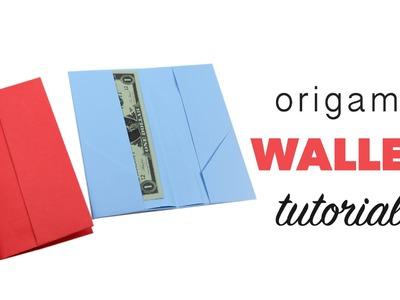 Easy Origami Wallet Tutorial ♥︎ DIY ♥︎