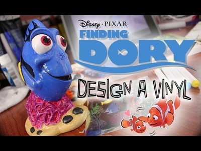 Finding Dory Design a Vinyl Speed Painting | Disney DIY|  The Dan-O Channel