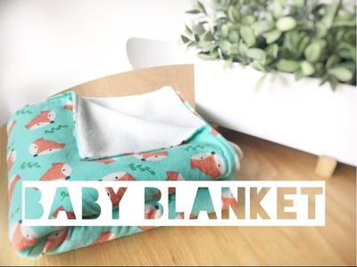 HOW TO MAKE A BABY BLANKET | DIY Gift Idea - Mummy Maker
