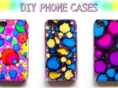 How to make  DIY CASES.super cool cell phone case. Simple DIY projects