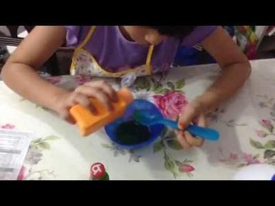 How to make Diy Slime With Syafiqah