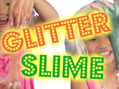 How to Make Glitter Slime | DIY Glitter Galaxy Slime