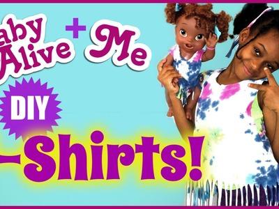 BABY ALIVE Doll + ME DIY T-shirts | Easy | BlueprintDIY Kids