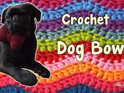 Bow for a dog - Crochet